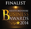 Hertfordshire Business Awards Finalist 2014